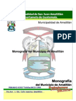 Monografia San Juan Amatitlan