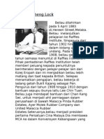 Biodata Tun Tan Cheng Lock
