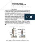 2. Proceso de soldadura semiautomática con alambres tubulares- FCAW