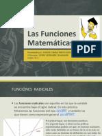 Las Funciones Matematicas
