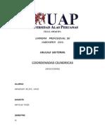 Aplicaciones de Las Coordenadas Polares en La Ing Civil