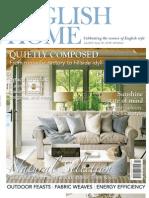 The English Home Magazine July 2013
