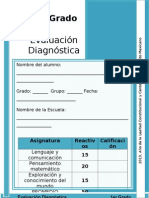 1er Grado - Diagnóstico (2013-2014)