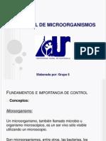 Control de Microorganismos, V 250413