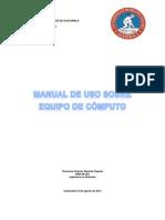 manual basico de uso de componentes de computo
