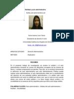 Nulidad y Acto Administrativo Revista.