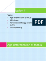 Medicolegal Importance of Age Determination