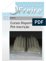 Manual Pre Inscricao