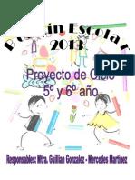 _Proyecto de Escritura BOLETÍN ESCOLAR