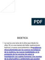 BIOETICA 1