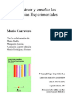 Construiryensearlascienciasexperimentales Mariocarretero Unidad3 130113140903 Phpapp01