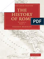 The History of Rome Volume 4 Part2 Cambridge Library Collection Classics
