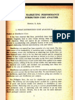 Distribution Cost Analysis Paper