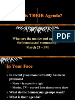 Homosexual Agenda