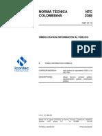 NTC2388 SÍMBOLOS PARA INFORMACIÓN AL PÚBLICO