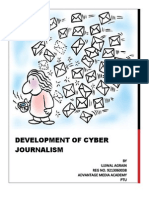 Project - Development of Cyber Journalism (2)