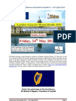 EUFAMI Dublin Conference Newsletter Number 3 April