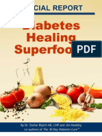 Diabetes Healing Superfoods