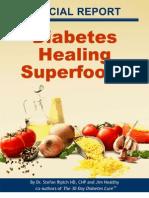 Diabetes Healing Superfoods