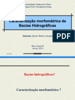 Caracterização morfométrica de Bacias Hidrográficas_Alcinei Ribeiro