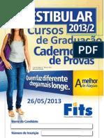 Provas Graduacao Fits 2013 2