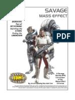 Savage Worlds - Mass Effect