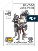 Savage Worlds - Mass Effect