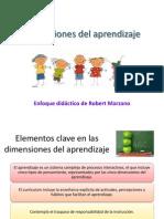 PPT 3. Dimensiones Del Aprendizaje