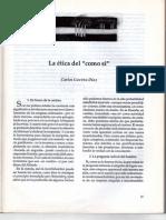 Carlos Gavíria Díaz-La Ética del Como sí 1