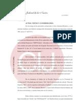 Enriquecimiento ilícito de los hermanos Romero con fondos en cuentas bancarias en el exterior, no declaradas - Resolución del juez Claudio Bonadío