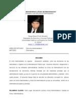 Actos Administrativo y Actos de Administracion