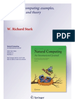 AMORPHOUOS COMPUTING Examples, Mathematics and Theory, August2013