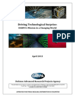 Darpa Strategic Plan