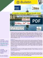 EUFAMI @Bulletin January 2013 - Dublin Conference Announcement