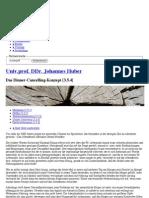 Univ.prof. DDr. Johannes Huber - Das Dinner-Cancelling-Konzept [3.5.4]