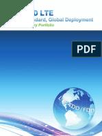 TD-LTE Industry Portfolio (1)
