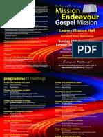Mission Endeavour - 2007 - Ballymoney