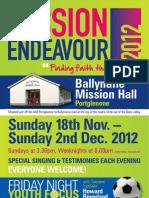 Mission Endeavour - 2012 - Portglenone