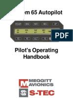 S-Tech Sys65 Autopilot Poh