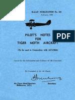 DH 82 PilotNotes
