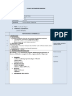Ficha de Secion de Aprendizaje