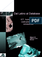 Dal Latino Al Database