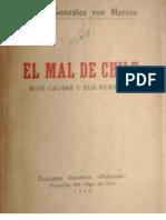 77967642 El Mal de Chile Sus Causas y Sus Remedios Jorge Gonzalez Von Marees