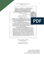 HB4 Tema 01 - 01 História Econômica do Brasil - Libertação Econômica