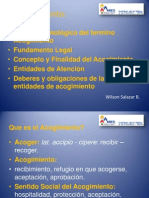 Acogimiento PowerPoint