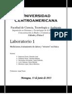 Reporte Laboratorio I