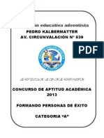 Adtitud Academica Categoria A