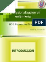 La profesionalización en enfermería.pdf
