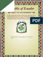 Norma Ecuatoriana Fibra