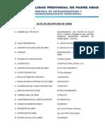 Acta de Recepcion 2013-1
